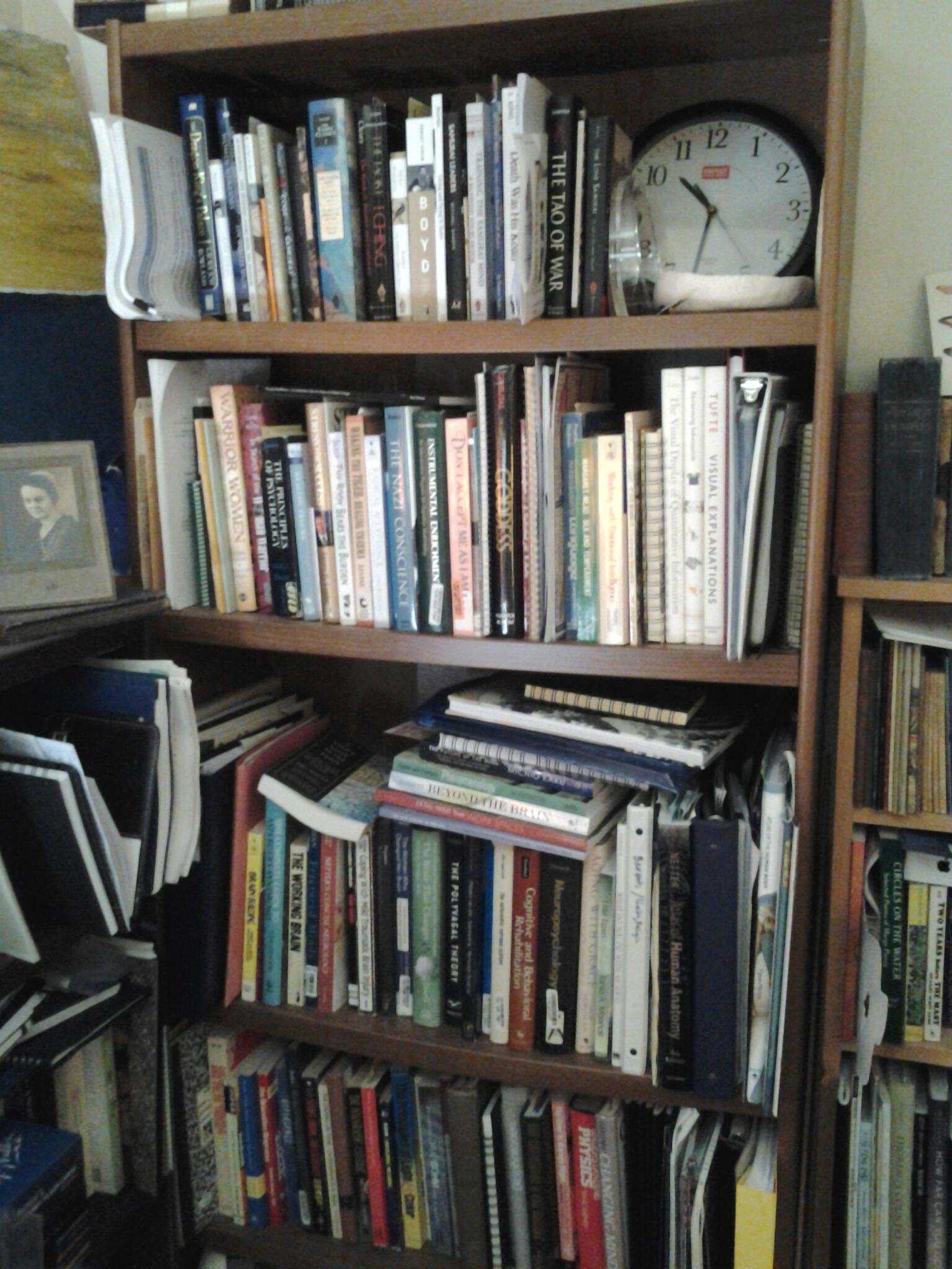Bookshelf 2 - Neurology, Psychology, Zen, War, Physics