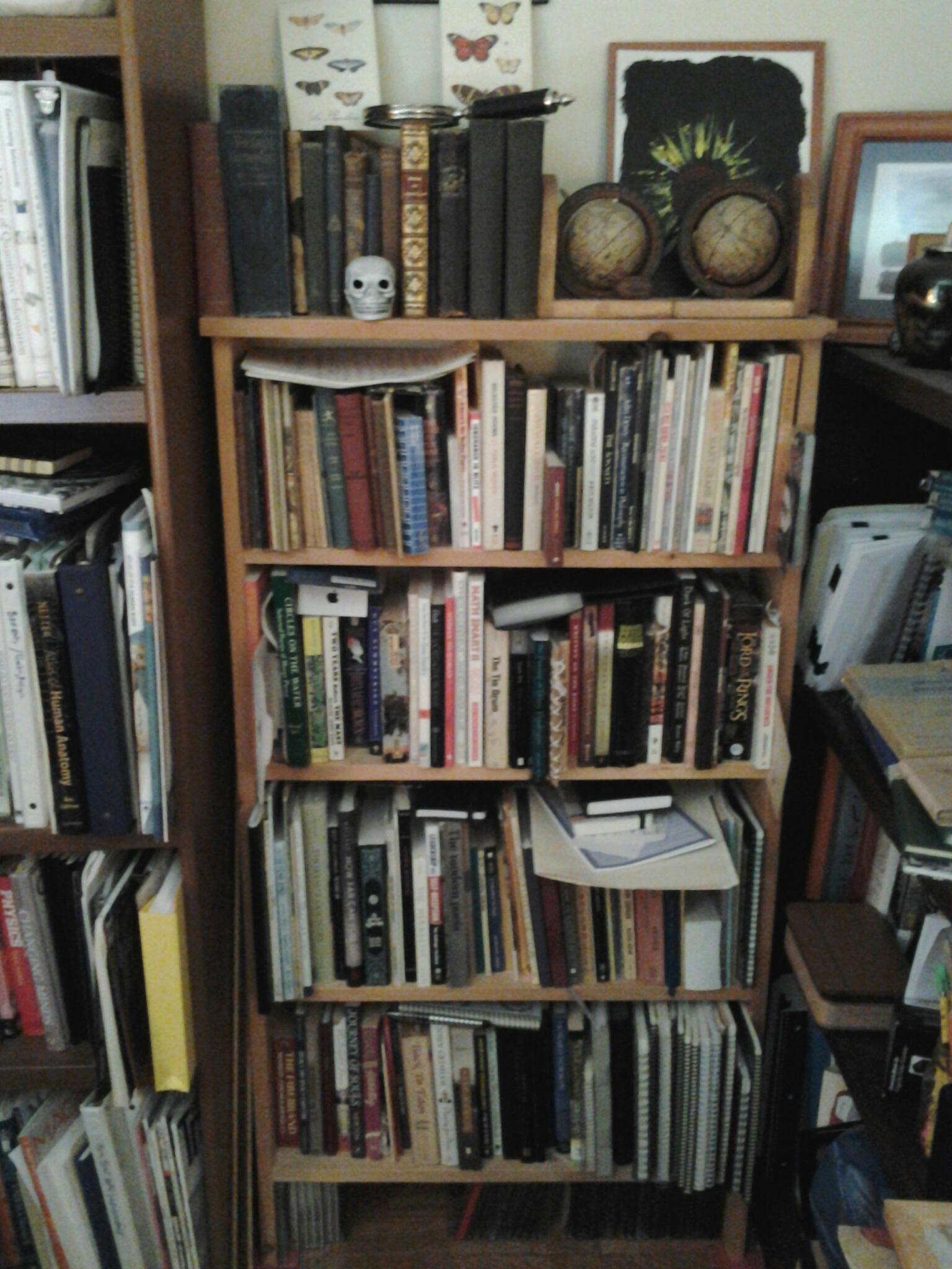 Bookshelf 3 - Religion, philosophy, travel