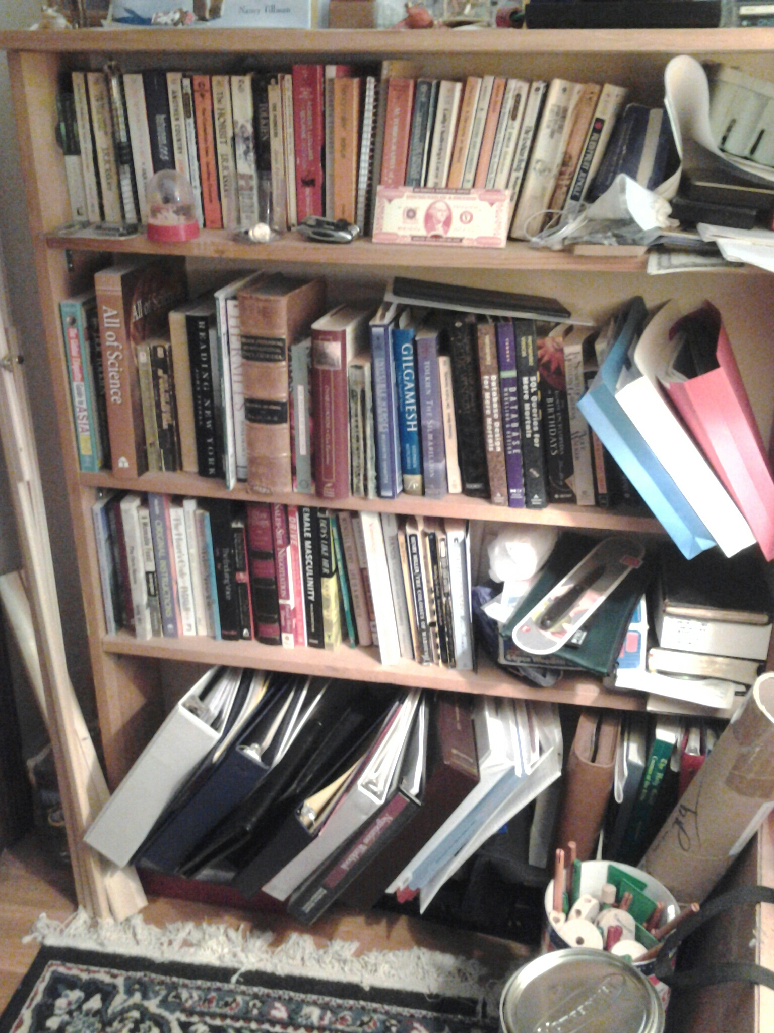 Bookshelf 6 - esoterica, financial, programming, fiction