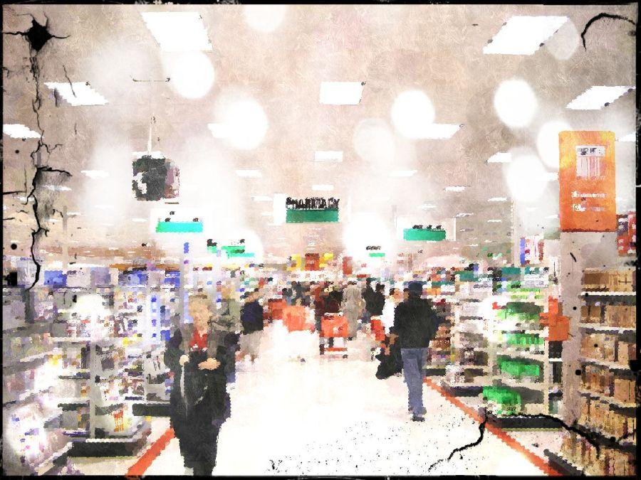 big box store interior